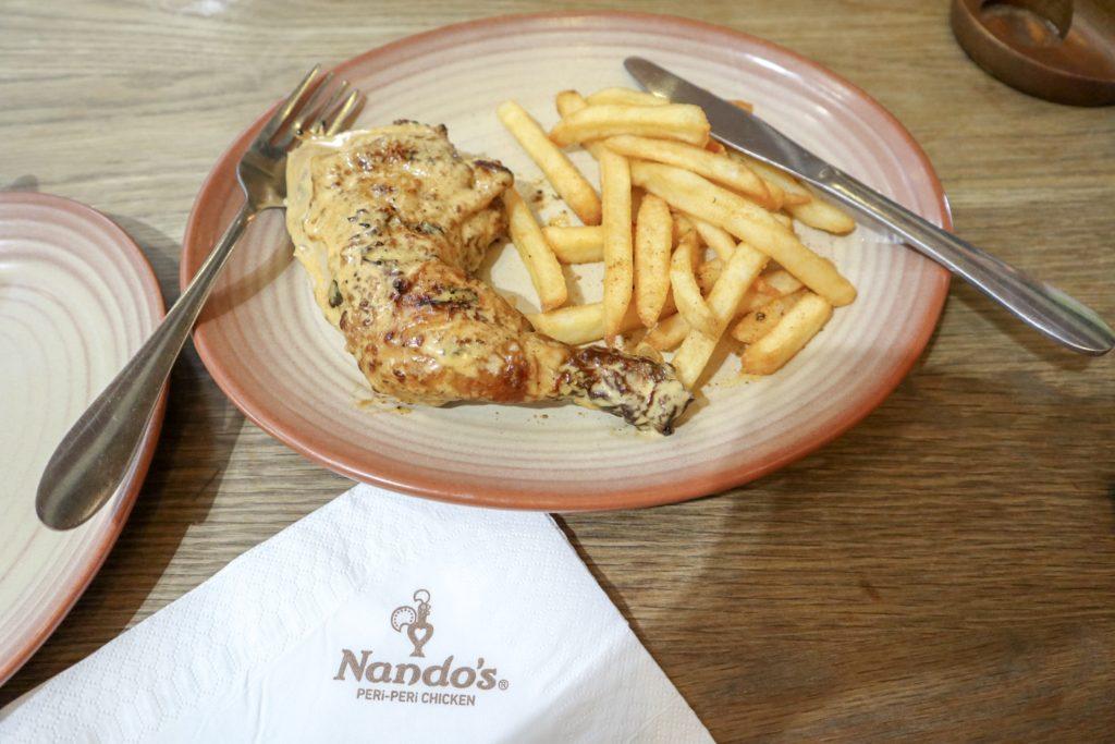 ナンドーズのペリペリチキン