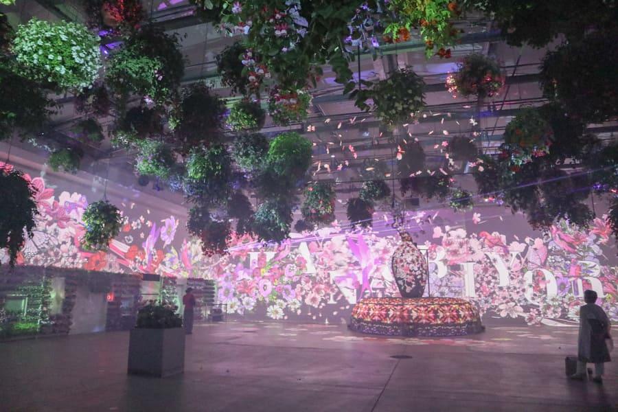 花とデジタルのアートショー
